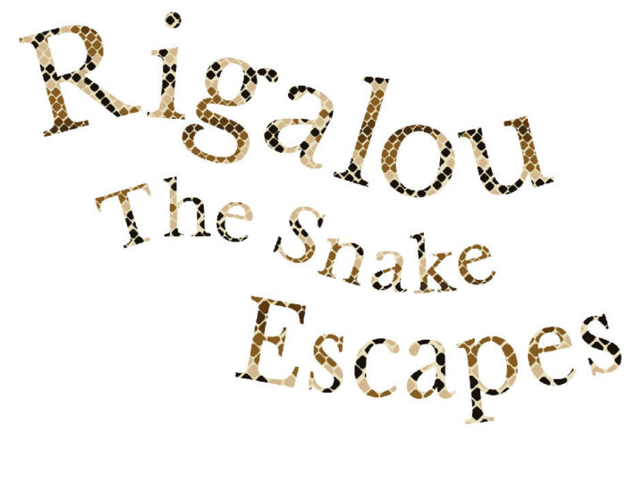 Rigalou The Snake Escapes